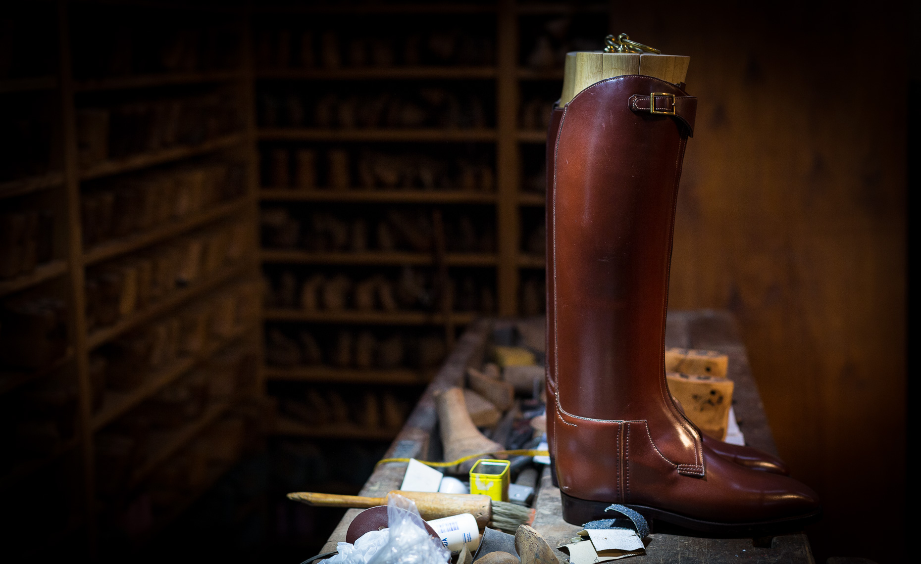 Casa Fagliano polo boot makers shot for the WSJ