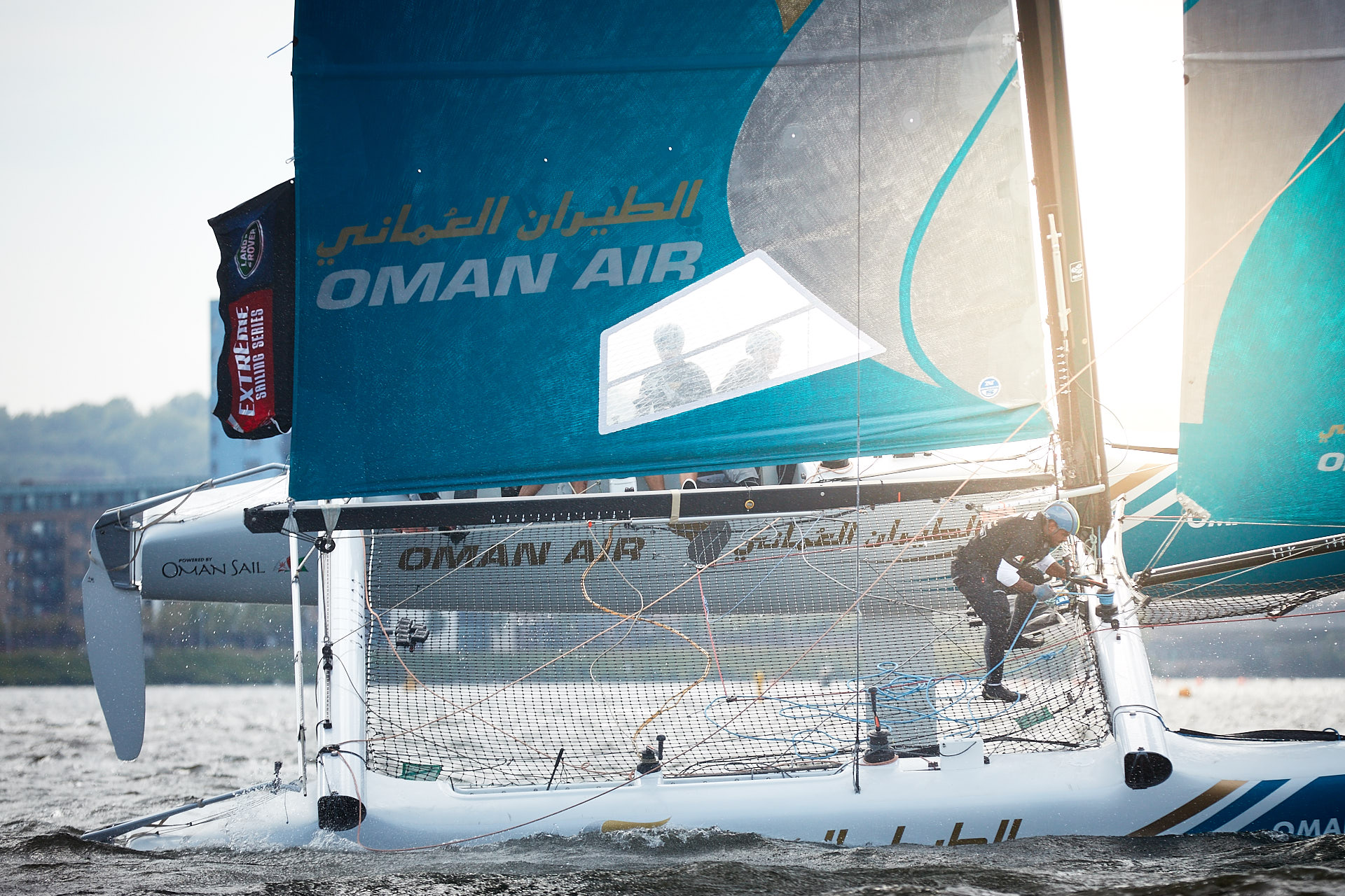 Extreme Sailing Series Oman air