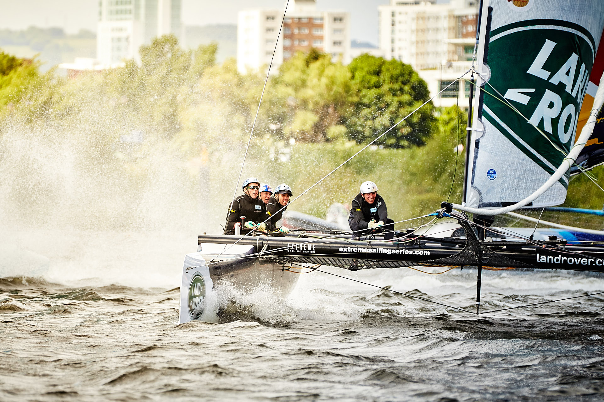 Extreme Sailing Series Land Rover