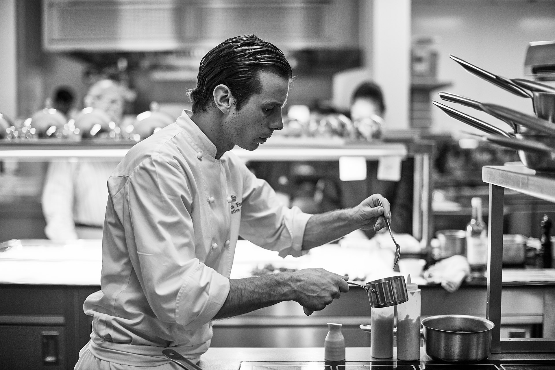 Head Chef at The Lanesborough Florian Flavario