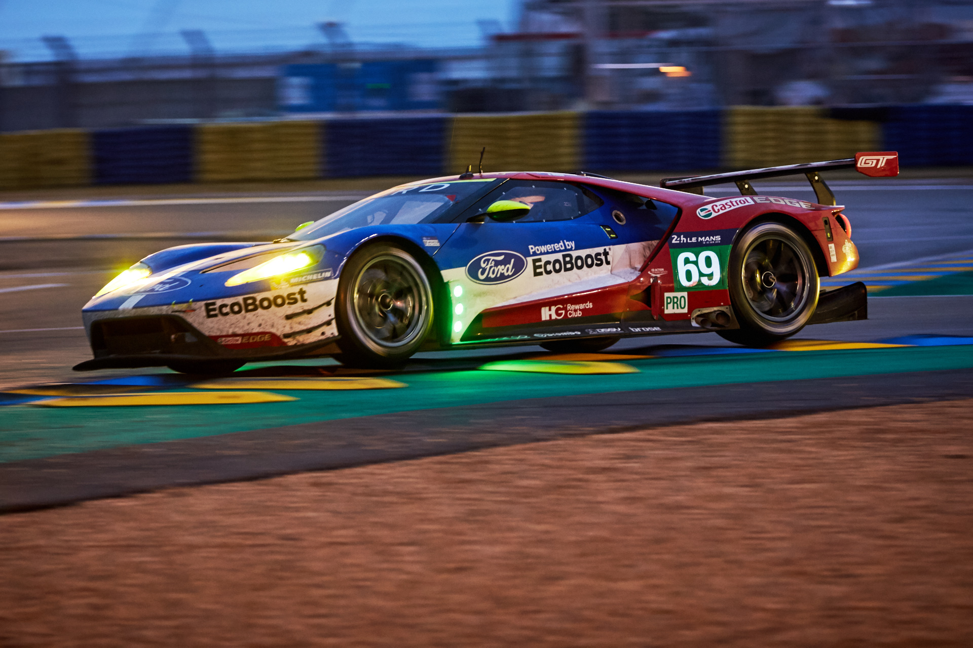 Ford GT at the Le Mans 24 hours