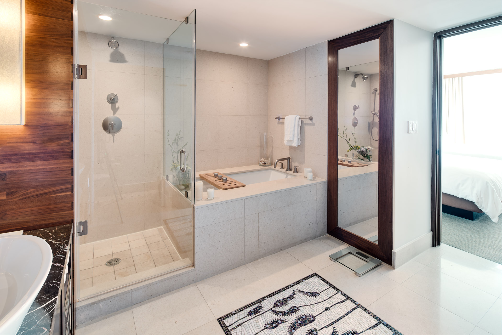 Bathroom interior photograph Carillon Miami