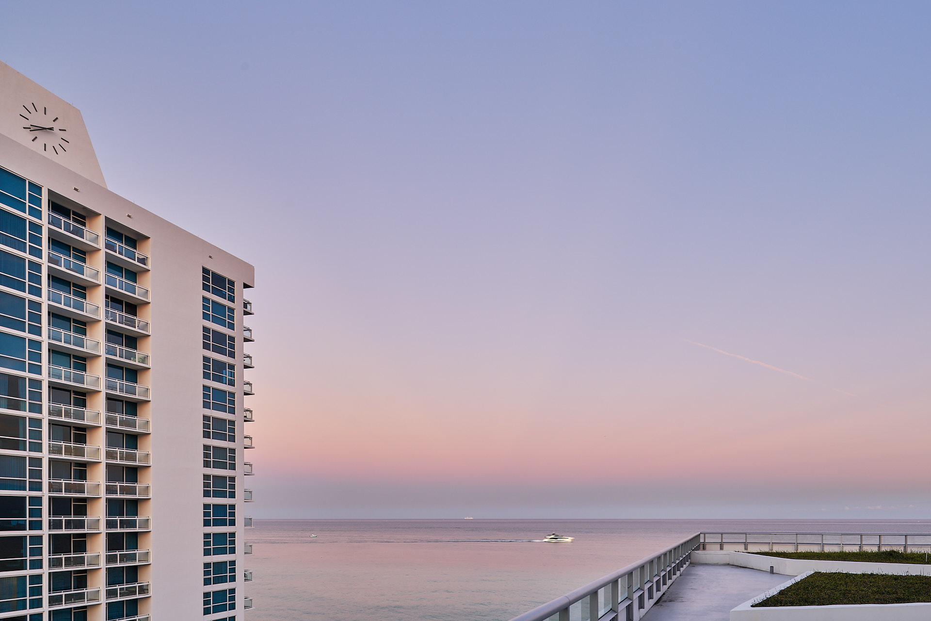 Seascape from the Carillon Miami