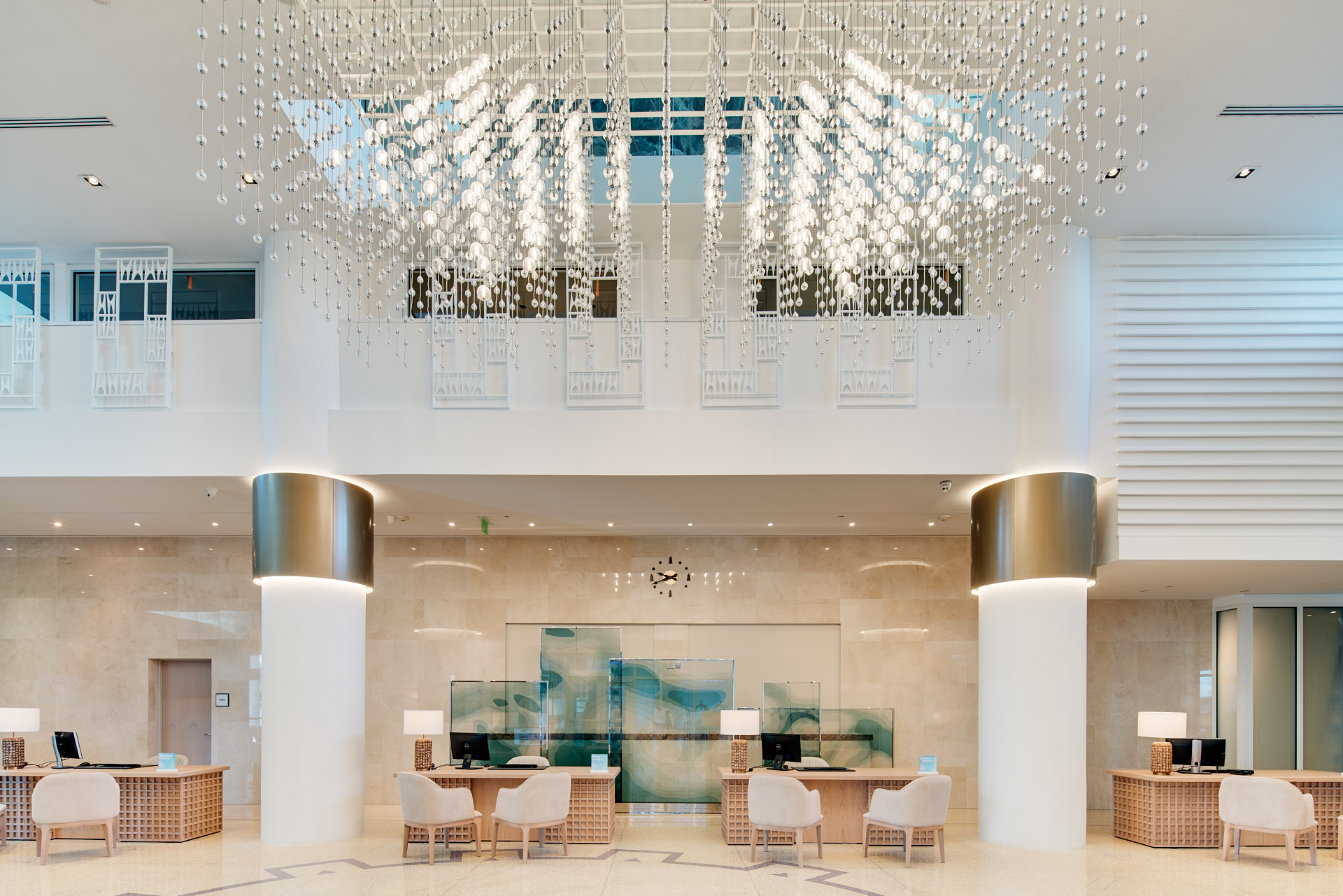 Lobby shot of the Carillon Miami