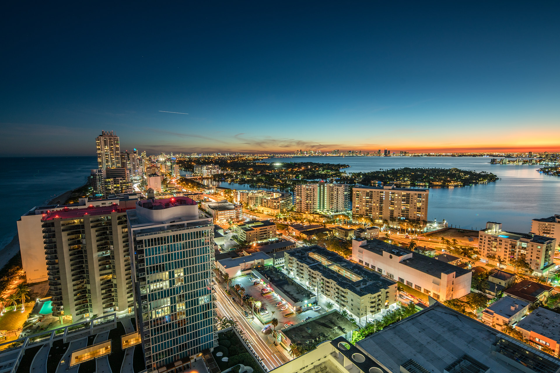City view of Miami