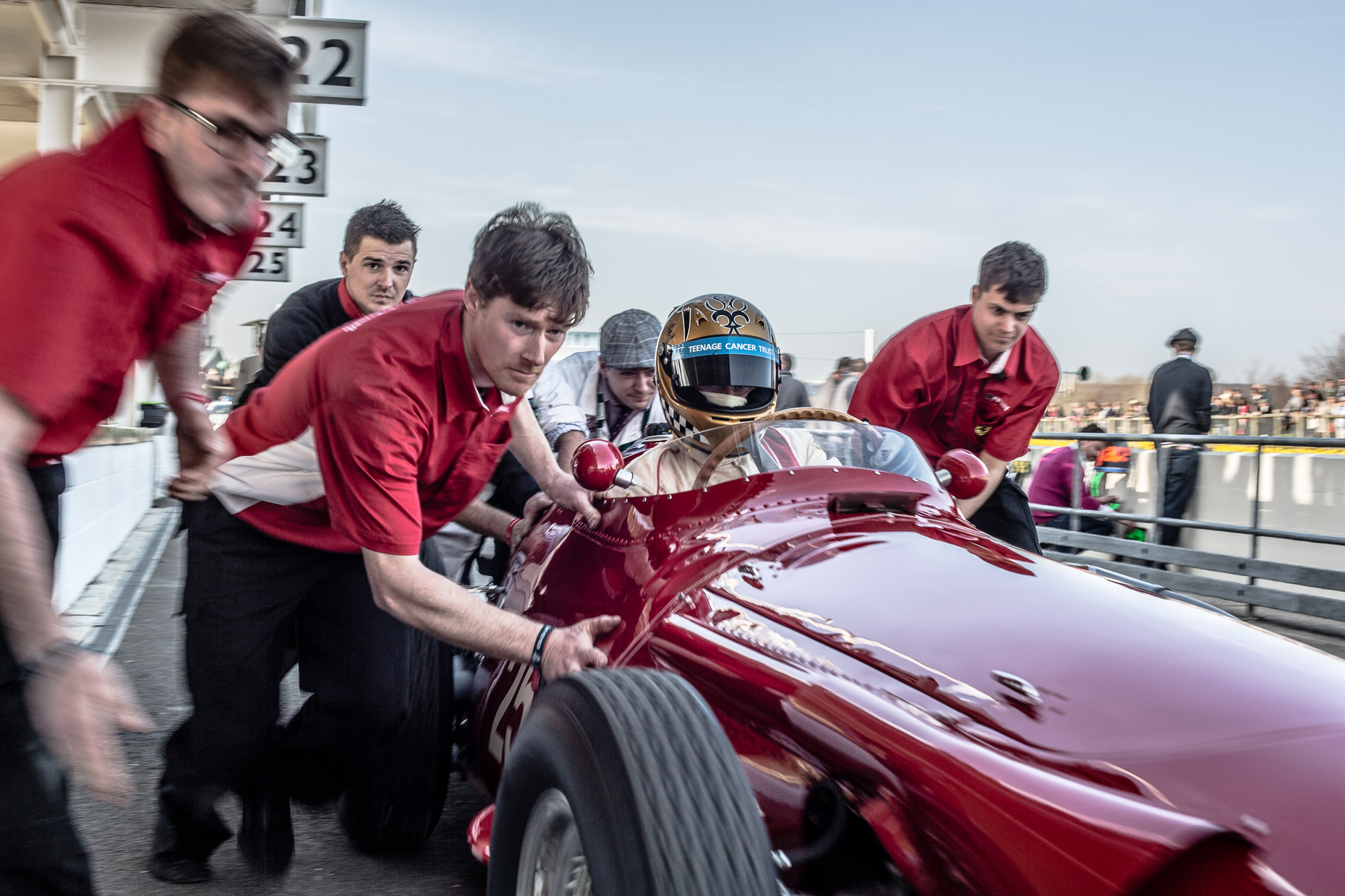Festival of Speed hosted at Goodwood