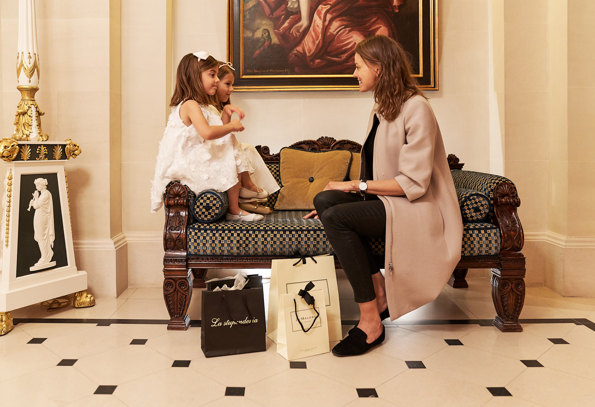 Lifestyle moment at The Lanesborough
