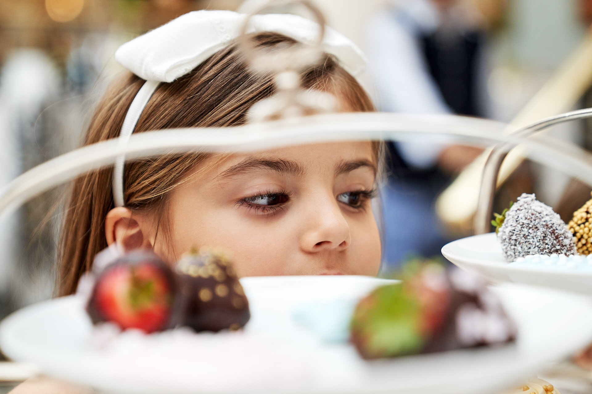 Children enjoy afternoon Tea at The Lanesborough