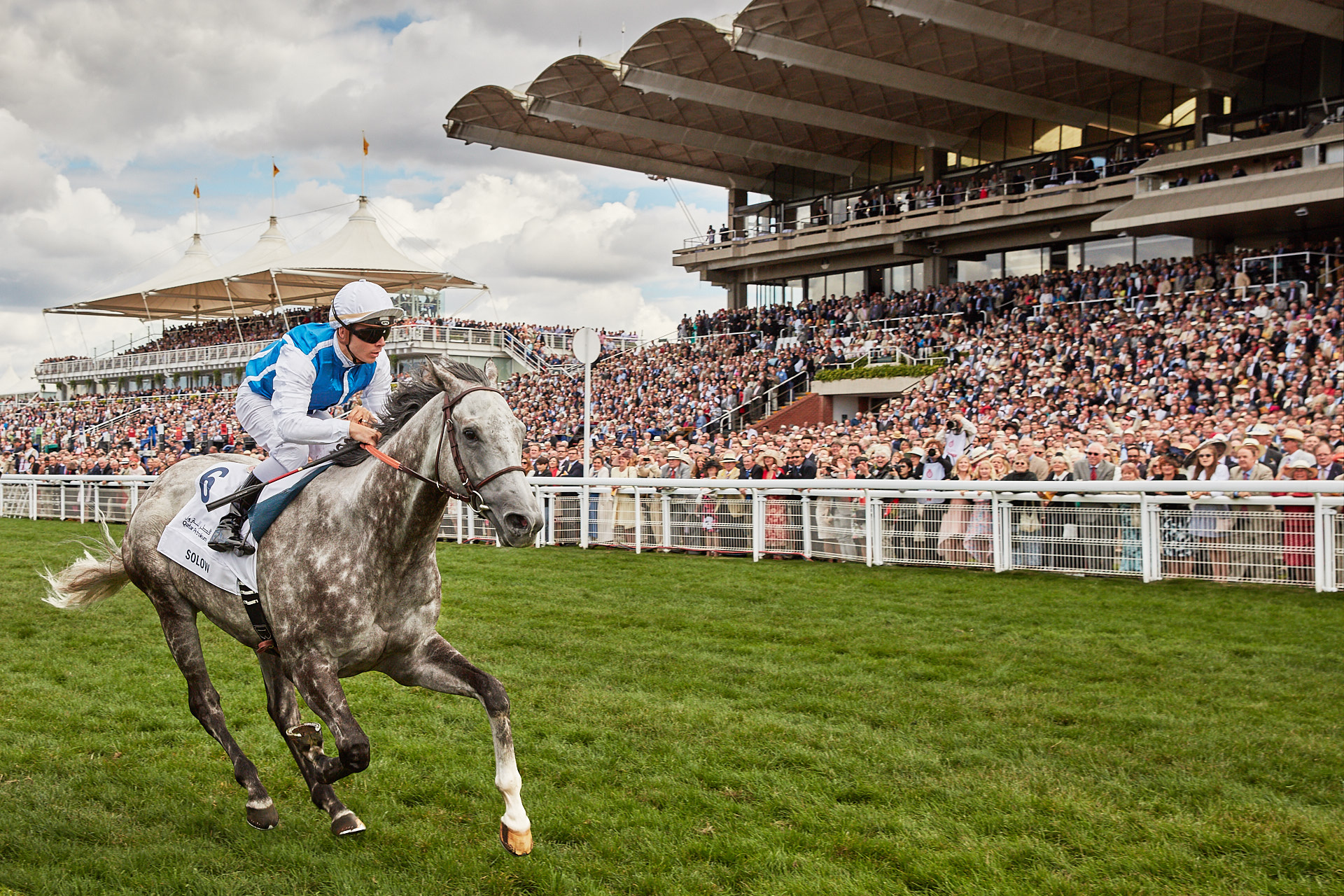Qatar Goodwood Festival - Solow winning