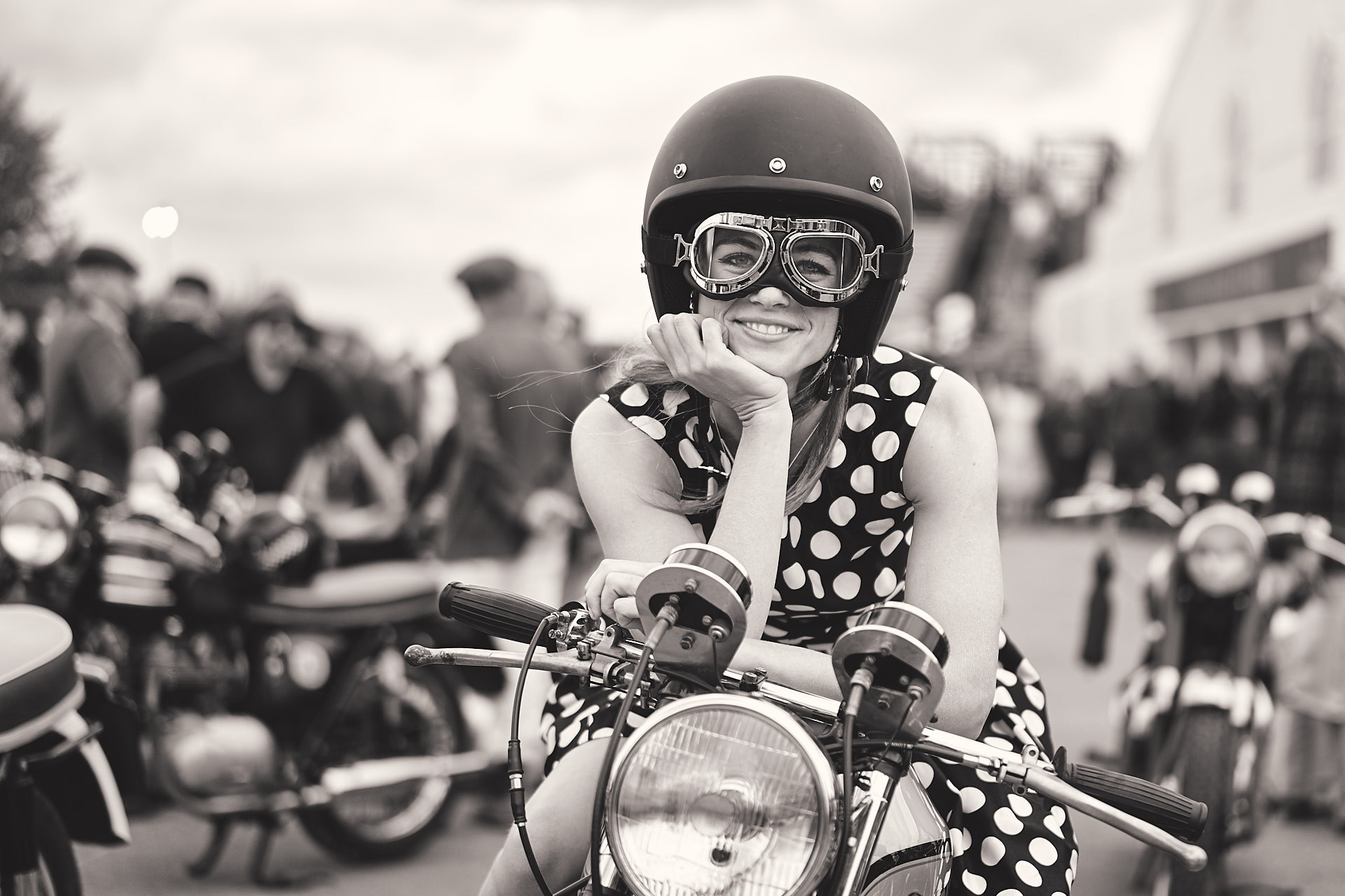 Goodwood Revival 2018 Rosie Tapner