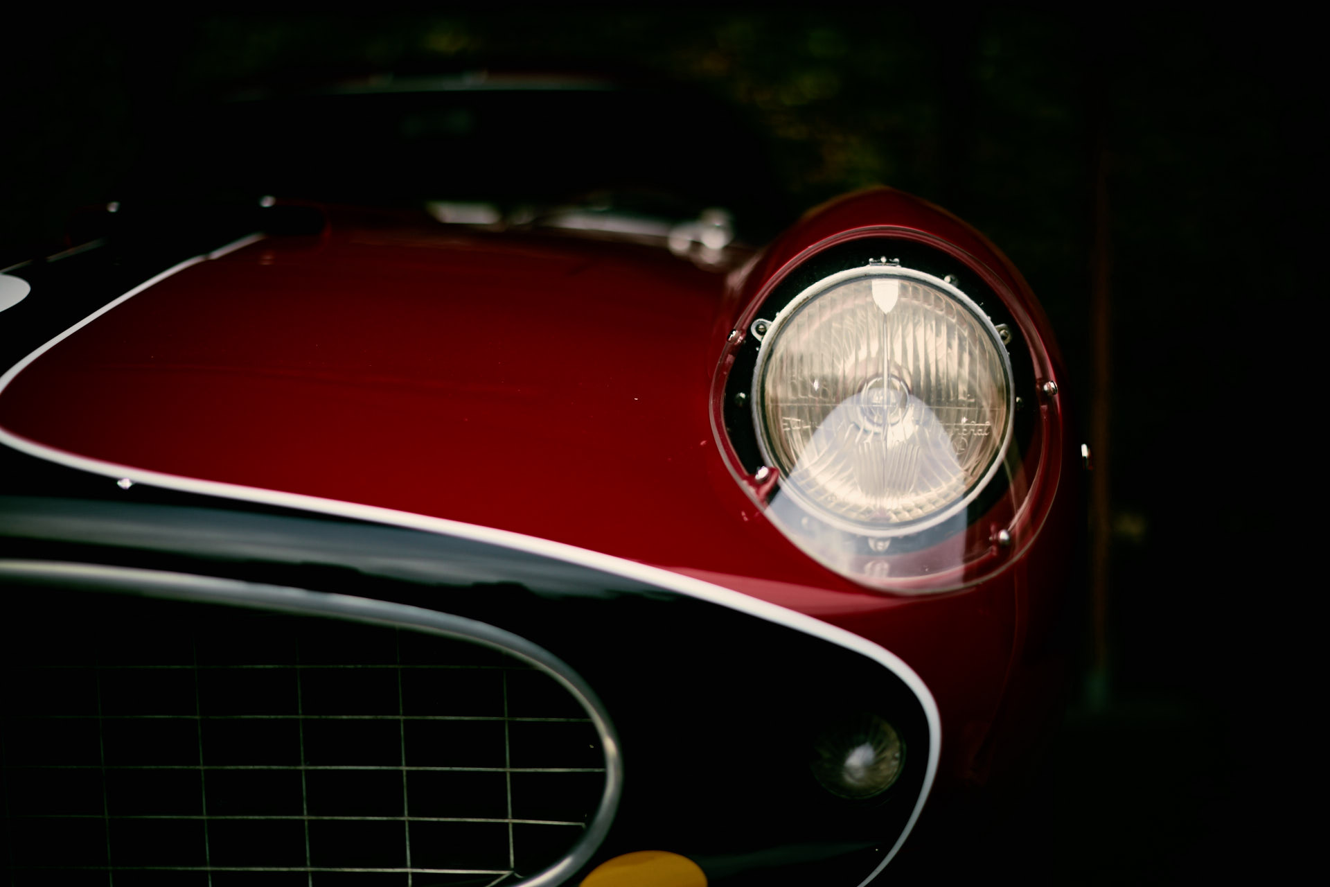 Ferrari eyes from the Goodwood Revival