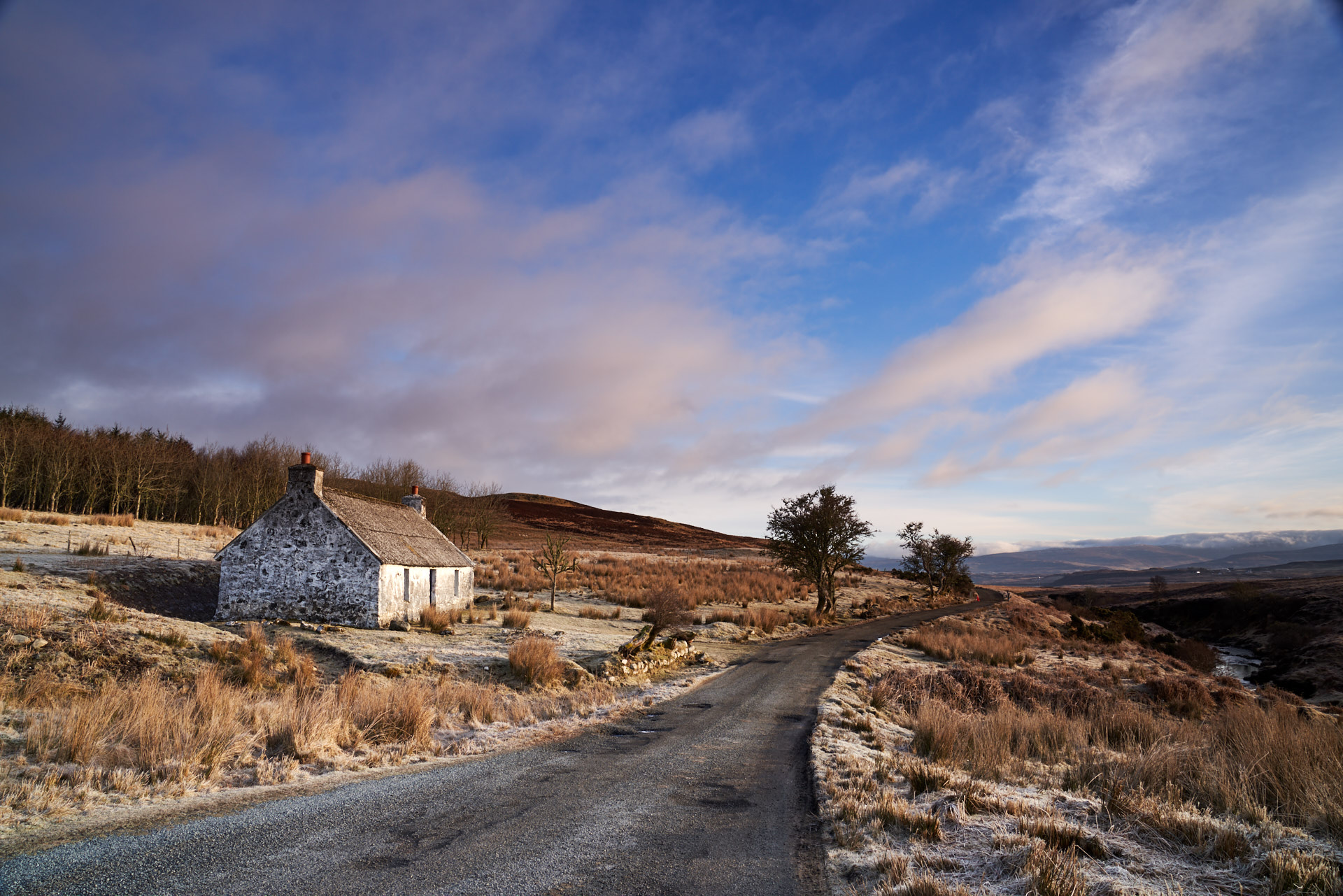 Disused house, Edinbane -  Isle of Skye