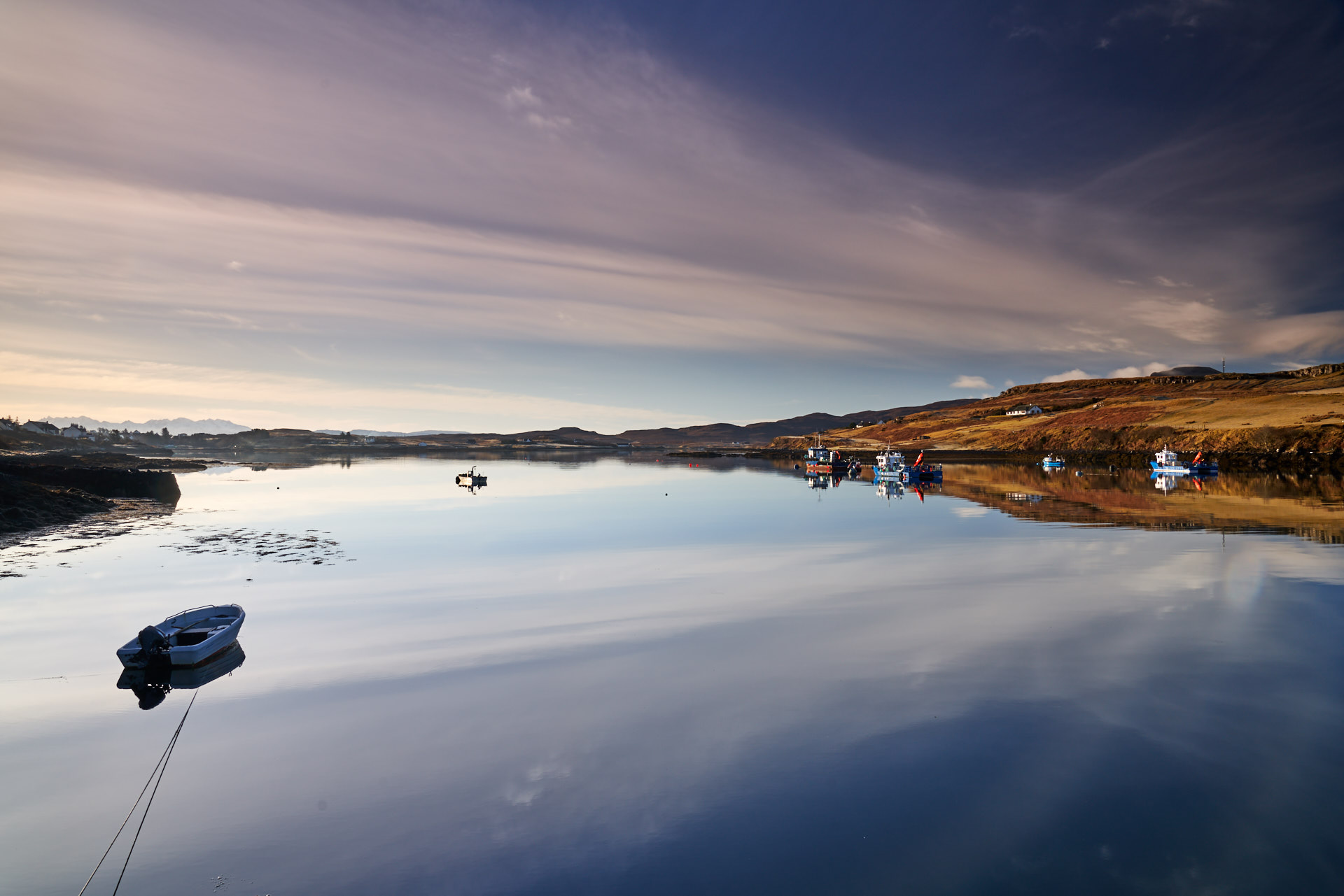 Kilmuir Loch at dawn -  Isle of Skye